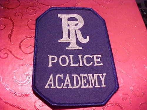 RHODE ISLAND POLICE ACADEMY POLICE PATCH SHOULDER SIZE UNUSED