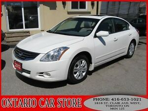 2012 Nissan Altima S 2.5 SUNROOF