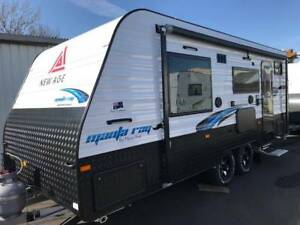 New Age Manta Ray 18ft Ensuite Rear Series 2 Youngtown Launceston Area Preview