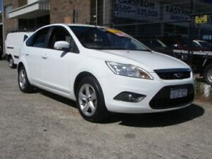 2010 Ford Focus LV LX White 5 Speed Manual Hatchback Wangara Wanneroo Area Preview
