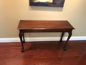 Hall/Chesterfield table.