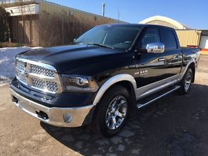 2014 Dodge Ram 1500 Laramie CREW-CAB/LEATHER/SUNROOF/NAVIGATION