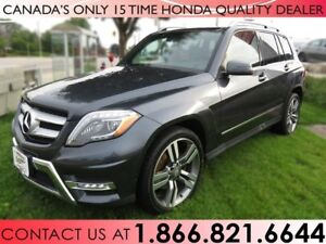2015 Mercedes-Benz GLK-CLASS GLK 250 BLUETEC AWD 4MATIC | NO ACC