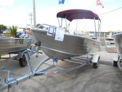 Stacer 429 Rampage with Mercury 30hp 2stroke outboard Park Avenue Rockhampton City Preview