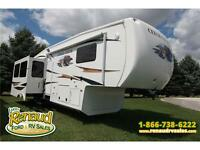 Used 2012 Forest River Cedar Creek 34 RLSA 5th Wheel