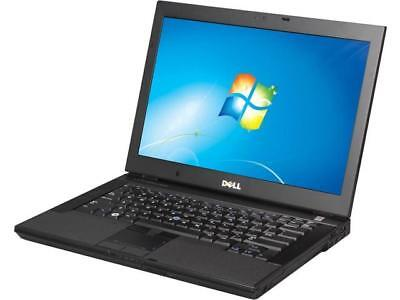 DELL Laptop Computer E6400 Windows 7 Core 2 Duo DVD WiFi Notebook HD
