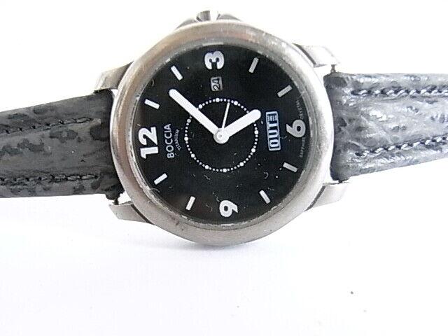 Damen  Armbanduhr Boccia Out Titan 5 Bar läuft