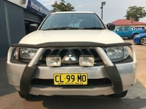 2009 Mitsubishi Triton ML GLX White Manual Utility