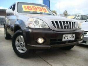 2003 Hyundai Terracan HP Silver 4 Speed Automatic Wagon Enfield Port Adelaide Area Preview