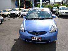2006 Honda Jazz MY06 GLI Blue 5 Speed Manual Hatchback Coorparoo Brisbane South East Preview