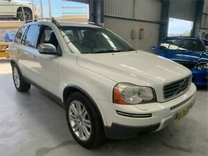 2009 Volvo XC90 P28 MY10 D5 Geartronic Executive White 6 Speed Sports Automatic Wagon Boolaroo Lake Macquarie Area Preview