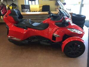2013 CANAM SPYDER RT-S 990 IN RARE RED @ AE