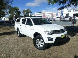 2012 Mitsubishi Triton MN MY12 GLX (4x4) White 4 Speed Automatic 4x4 Belconnen Belconnen Area Preview