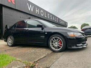 2007 Mitsubishi Lancer CY MY07 Evolution IX Black 6 Speed Manual Sedan Mayfield West Newcastle Area Preview