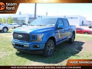 2018 Ford F-150 LARIAT, 502A, 4X4, 3.5L V6, SYNC3, FORD PASS, NA