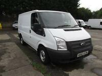 Ford Transit T280 SWB Low Roof Van Tdci 125Ps DIESEL MANUAL WHITE (2014)