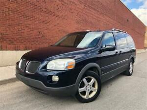 2006 PONTIAC MONTANA SV6 *7 PASS,CAPTAIN CHAIRS,NO ACCIDENTS!!*