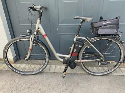LADIES KALKHOFF AGATTU HS 8G IMPULSE STEP THRU ELECTRIC E BIKE. RECENT SERVICE