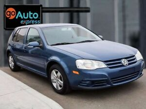 2009 Volkswagen City Golf ACCIDENT FREE, HEATED FRONT SEATS, AIR