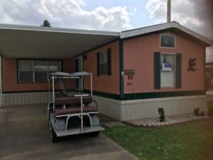 Texas Mobile Home in Gated Adult Park