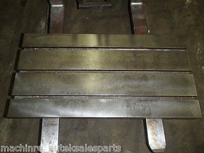 39.25 X 20 X 2 Steel Weld T-slotted Table Cast Iron Layout Plate T Slot Jig