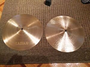 Sabian Neil Peart Paragon Hi-Hats, Great Condition