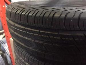 ON SALE 195/65/R15 Continental ContiproContact or Bridigeston Turanza Tires installed