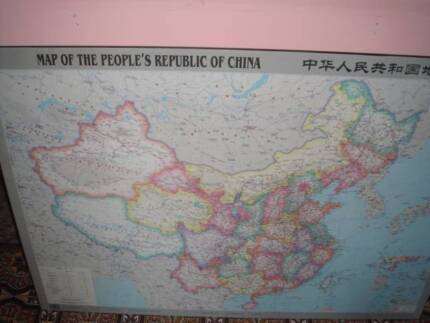 Medicine chart map vintage collectables gumtree australia chinese map gumiabroncs Choice Image