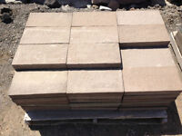 New precast patio stone slab pavers