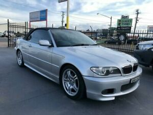 2004 BMW 325Ci E46 Silver 5 Speed Auto Steptronic Convertible Canley Vale Fairfield Area Preview