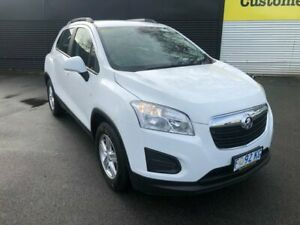 2016 Holden Trax TJ MY16 LS Summit White 6 Speed Automatic Wagon Invermay Launceston Area Preview