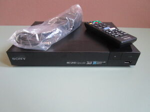 New Sony DVD/Blu-ray Player with 4K Upscaling & Wi-Fi