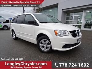 2012 Dodge Grand Caravan SE/SXT ACCIDENT FREE w/ DVD ENTERTAI...