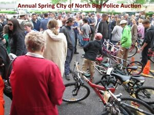 City of North Bay Police Auction May 26