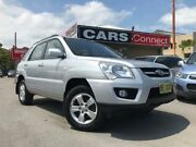 2009 Kia Sportage KM LX (FWD) Silver 4 Speed Tiptronic Wagon Edgeworth Lake Macquarie Area Preview