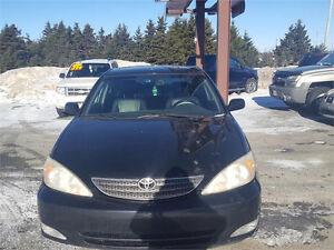 2003 Toyota Camry XLE Sedan - low KMs - in Grand Falls-Windsor