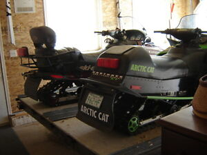 2 SLEDS AND TRAILER PACKAGE- Ft.'QuAppelle area