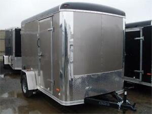 "6X12 Cargo Trailers 6'6"" Interior, 4"" Frame & Much More"
