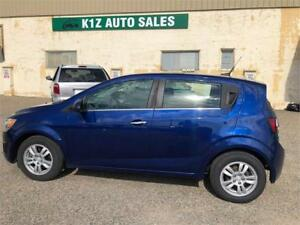 2013 Chevrolet Sonic LT - LOW KMS COMES WITH 3MTH WARRANTY INVLU