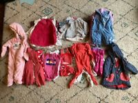 Baby Girl Bundle 6-9 months (48 items)