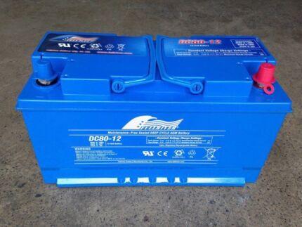 Fullriver AGM deep cycle Battery 80ah 12v 630CCA. ONLY 1 LEFT!
