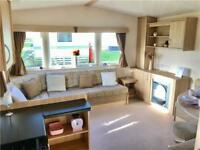 Central heated static caravan for sale north west coast seaside Lancashire 12ft