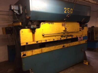 90 Ton X 10 Chicago Dreis And Krump Mechanical Press Brake 10 Overall Bed Leng