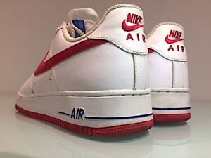 Air Force 1 shoes / sneakers - Red Bottom - Mens Size 13