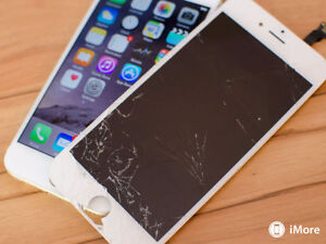 iPhone 4 4S, 5 5S 5C 6 6+ 6S 6s+ Glass and touch LCD Repairs !!