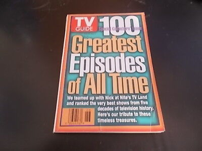 100 Greatest Episodes of All Time - TV Guide Magazine (Tv Guides 100 Greatest Episodes Of All Time)