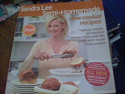 Sandra Lee Semi-Homemade slow cooker recipes wb15 (Sandra Lee Recipes)
