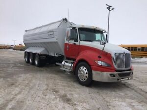 2012 International ProStar, Used Drive w/Potato box