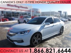 2017 Honda Accord Sedan SPORT | 1 OWNER | NO ACCIDENTS