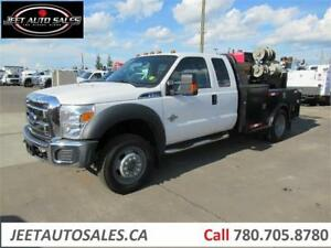 2012 Ford Super Duty F-550 DRW XLT With Welder and Bed